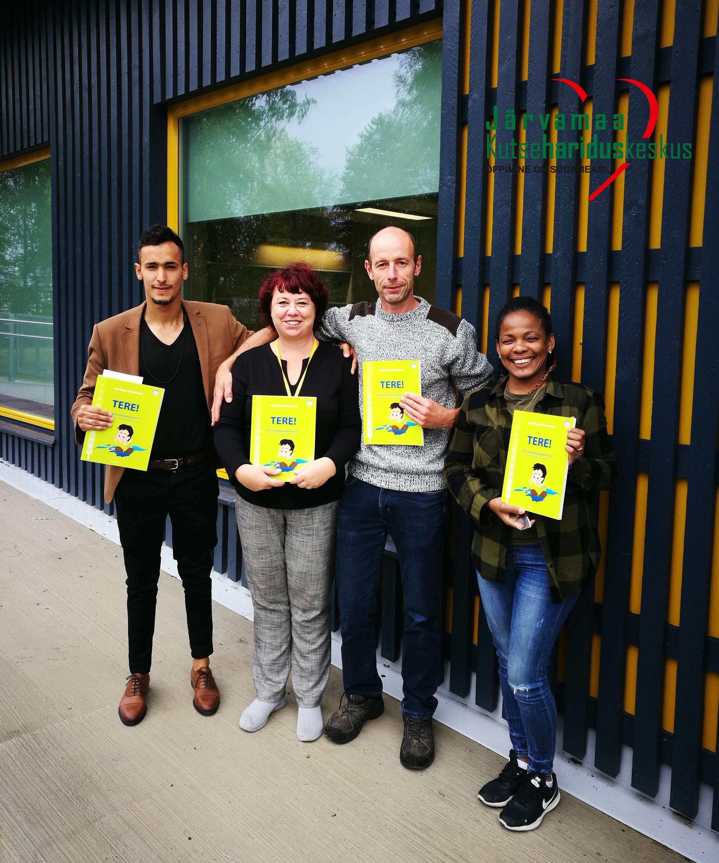 Järvamaa Kutsehariduskeskuse täienduskoolituse eesti keele kursus inglise keele baasil
