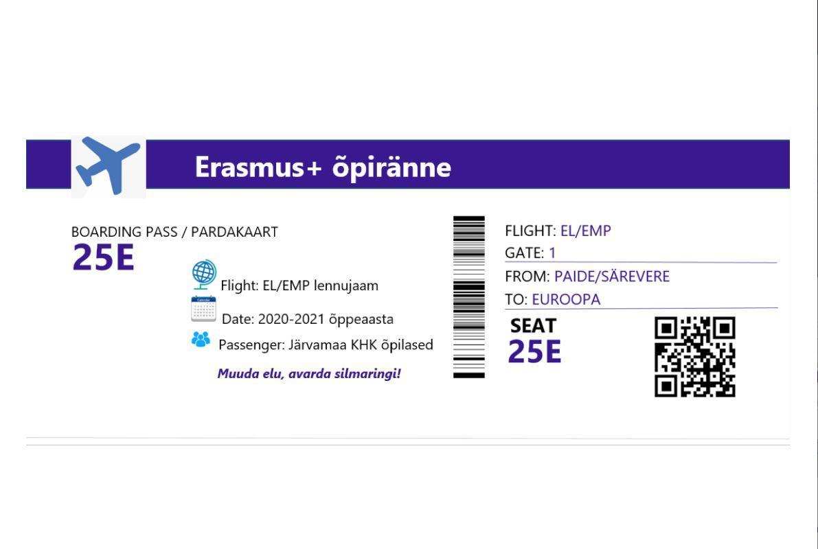 Erasmus+ õpiränne, välisoraktika