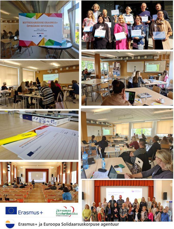 Erasmus+ õpirände projektijuhtide suvekool JKHK-s