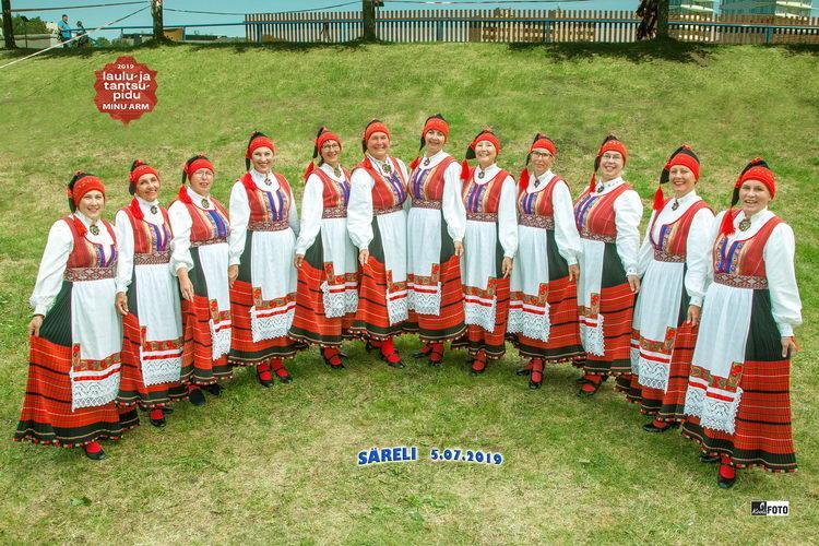 Säreli tantsurühm XX tantsupeol