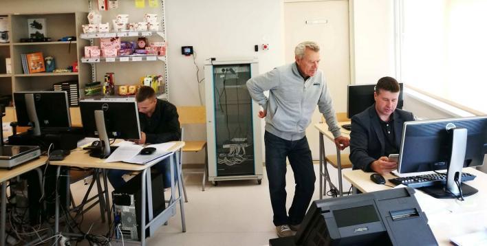 Järvamaa Kutsehariduskeskuse täienduskoolituse koostöökoolitus Sakretiga